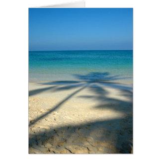 やし、Lanikaiのビーチ カード