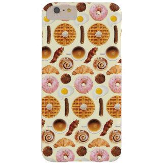 、やっとそこにとおいしい朝食のiPhone 6/6s Barely There iPhone 6 Plus ケース