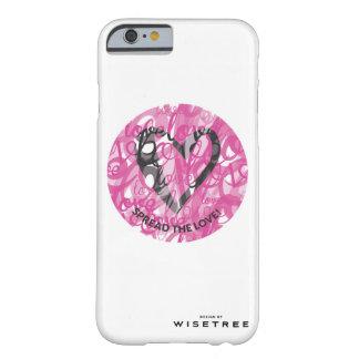 やっとそこに「愛」iPhoneの例を広げて下さい Barely There iPhone 6 ケース