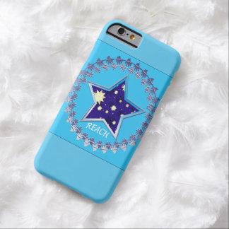 """やっとそこに""""星""""のiPhoneの例のために達して下さい Barely There iPhone 6 ケース"""