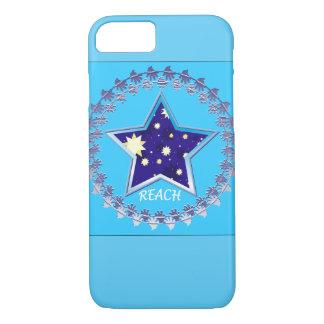 """やっとそこに""""星""""のiPhoneの例のために達して下さい iPhone 8/7ケース"""