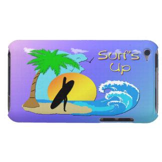 やっと波の-サーファーの女の子の穹窖のThere™ iP Case-Mate iPod Touch ケース