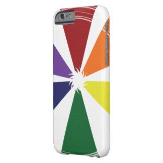 やっと穹窖のiPhone 6/6sの場合のプライド色 Barely There iPhone 6 ケース