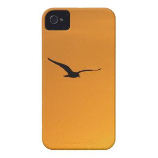 やっと鳥のiPhone 4の穹窖のシルエット Case-Mate iPhone 4 ケース