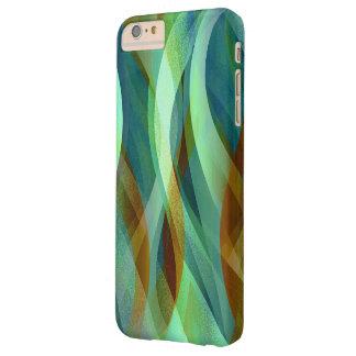 やっとiPhone 6のプラスの場合の抽象芸術の背景 Barely There iPhone 6 Plus ケース