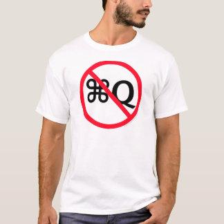 やめないで下さい Tシャツ