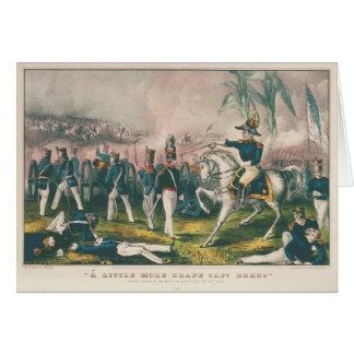 ややより多くのBraggブドウの大尉のメキシコ戦争 カード