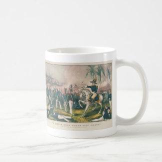 ややより多くのBraggブドウの大尉のメキシコ戦争 コーヒーマグカップ
