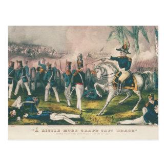 ややより多くのBraggブドウの大尉のメキシコ戦争 ポストカード