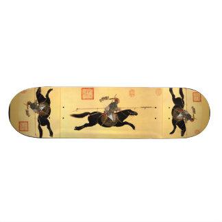 やりの中国のな芸術のスケートボードと攻撃するAyusi 18.7cm ミニスケートボードデッキ