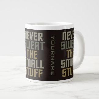 やる気を起こさせるでカスタムなマグ ジャンボコーヒーマグカップ