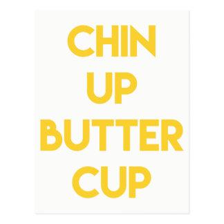 やる気を起こさせるなキンボウゲ のおもしろいの上のChin ポストカード