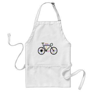 やる気を起こさせるなバイク、周期、サイクリング、スポーツの単語 スタンダードエプロン