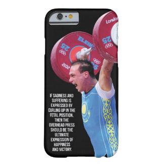 やる気を起こさせるなフィットネスの体育館 BARELY THERE iPhone 6 ケース
