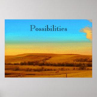 やる気を起こさせるなポスター可能性 ポスター