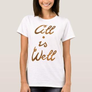 やる気を起こさせるな単語は「すべてWell'Typographyです Tシャツ