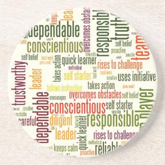 やる気を起こさせるな単語#4の陽性の価値 コースター