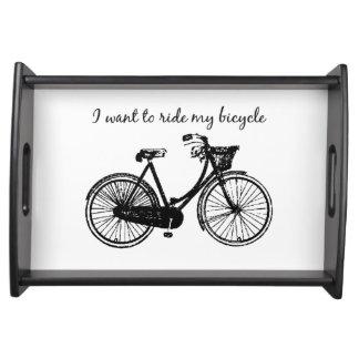 """""""やる気を起こさせるな引用文私の自転車""""に乗りたいと思って下さい トレー"""
