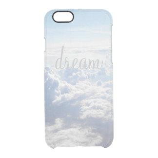 やる気を起こさせるな澄んな夢の大きく感動的な引用文 クリアiPhone 6/6Sケース