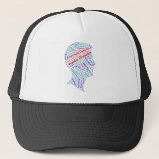 やる気を起こさせるなADHDのトラック運転手の帽子 キャップ