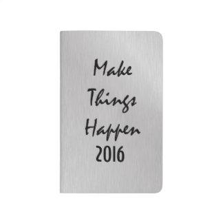 やる気を起こさせる事を2016年起こらせます ポケットジャーナル