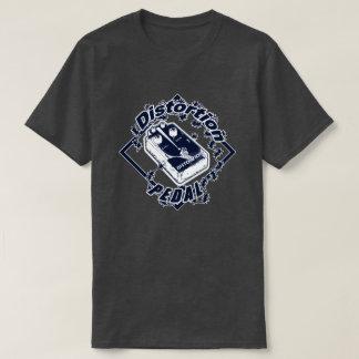 ゆがみのペダル-感電のダイヤモンドの青 Tシャツ
