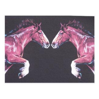 ゆっくり進むべきばん馬の鼻 ポストカード
