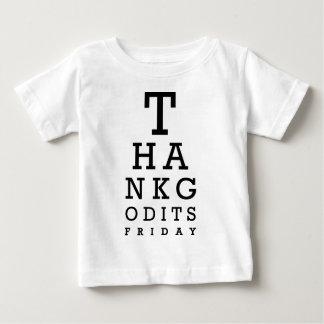 よいありがとう金曜日 ベビーTシャツ