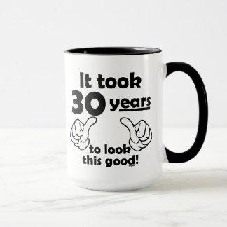 よいこれを見る30年 マグカップ