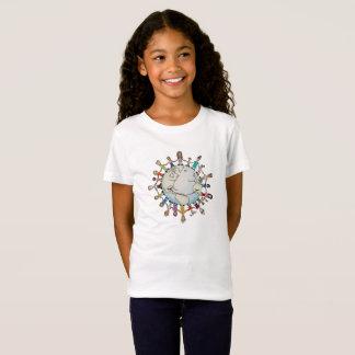 よいよTシャツのための子供力分野(新しい) Tシャツ