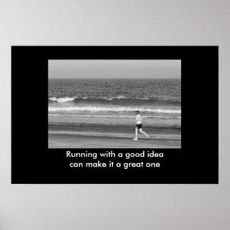 よいアイディアのやる気を起こさせるなプリントと走ること プリント