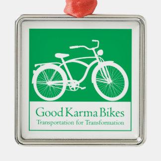 よいカルマのバイクのオーナメント メタルオーナメント