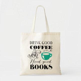 よいコーヒー及び本 トートバッグ