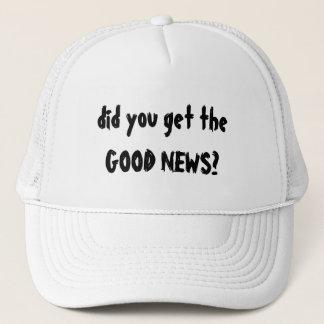 よいニュースの帽子 キャップ