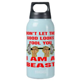 よい一見の愚か者を私によってが獣である許可しないで下さい 断熱ウォーターボトル
