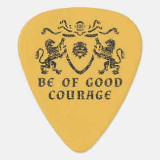 よい勇気の紋章のギターピック ギターピック