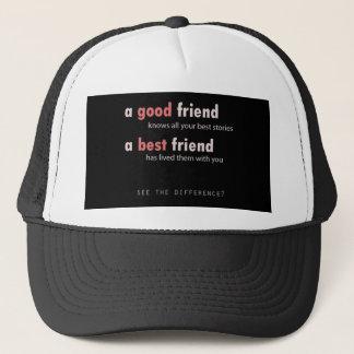 よい友人、親友 キャップ