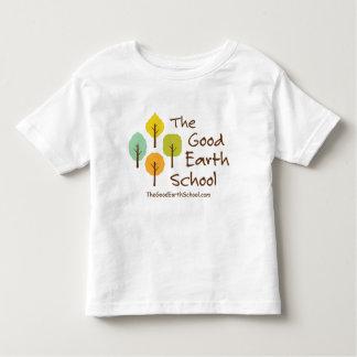 よい地球の学校の幼児のTシャツ トドラーTシャツ