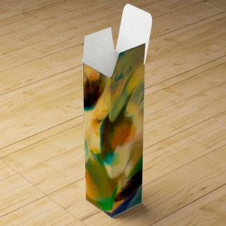 よい地球の抽象芸術 ワインギフトボックス