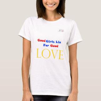 よい女の子のうそ Tシャツ