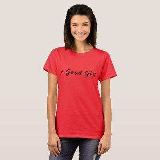 よい女の子のカップルのTシャツ Tシャツ