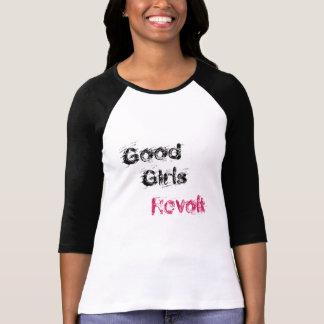 よい女の子の反乱 Tシャツ