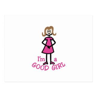 よい女の子 ポストカード