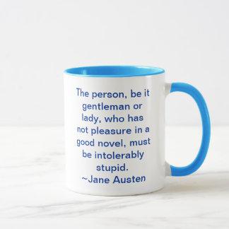 よい小説の持たれていなかった喜び マグカップ