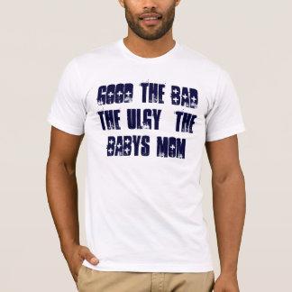 よい悪い状態ULGY BABYSのお母さん Tシャツ