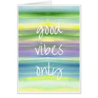 「よい感情水彩画の」の挨拶状だけ カード