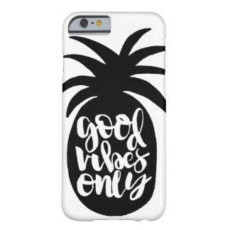 """""""よい感情""""のパイナップル電話箱だけ BARELY THERE iPhone 6 ケース"""