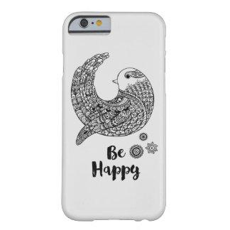 よい感情-幸せがあって下さい BARELY THERE iPhone 6 ケース