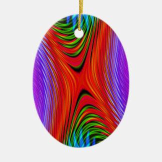 よい振動赤い紫色の緑のオーナメント セラミックオーナメント