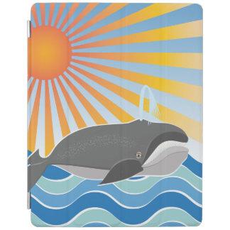 よい時間のクジラ iPadスマートカバー